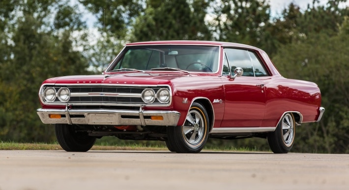 32 Classic Muscle Cars Made By General Motors